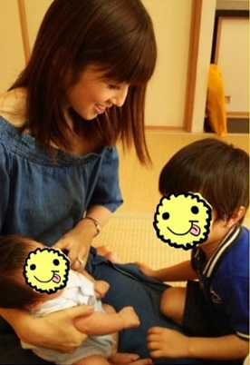 二児の母小倉優子